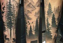 forêt tatoo