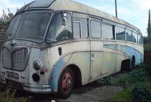 Abandoned Buses / Abandoned buses, from ancient times,rusting & resting in peace,in nowdays,in their last stop place.