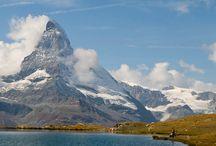 Schweiz Mattahorn Stellisee