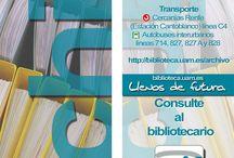 Otros marcapáginas / En este tablero se publicarán los distintos marcapáginas que edite Biblioteca y Archivo UAM ( Semana de la Ciencia, Centros etc)