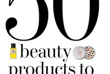 Vision board ~ Beauty products