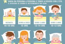 Dormire / Il sonno, il letto
