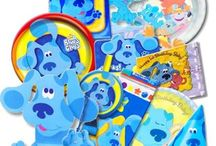 Blue's Clues Party Supplies / Blues Clues Party Supplies from www.HardToFindPartySupplies.com, where we specialize in rare, discontinued, and hard to find party supplies. We also carry several of the more recent party lines.  / by Hard To Find Party Supplies