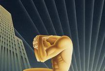 plakáty / obrázky 1/2 20. století