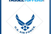 Military Toppers / U.S. Armed Forces  / by Tassel Toppers