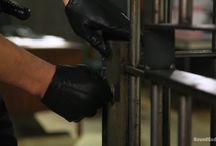 Gloved cops