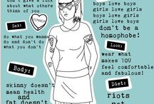 Riot Grrrl / 90s, 2000s and recent riot grrrl! music with girls is so the best!