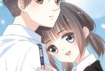 cute couple anime