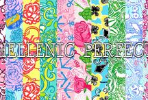 Lilly loves sororities / Lilly sorority prints