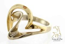 Gold Rings / Rings for everyday wear or evening wear