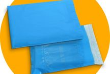 Blue Plastic Courier Packaging Bags & Covers