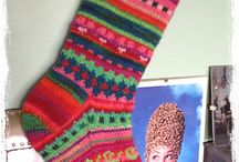 Colourful kntted Socks