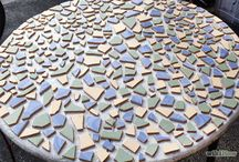 mosaic table tops