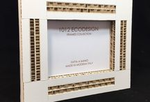 White and avana brown Frames for pictures madeinitaly. Cornici ecologiche bianche e avana in cartone / Picture frame is a a special gift that 1012Ecodesign,  suggests to offer someone special a designed and unique way to capture and showcase beautiful memories.