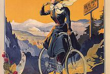 Bicycle old posters / Stare plakaty rowerowe