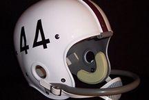 Vintage Aggie Football Helmets