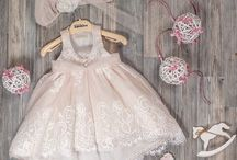 Baptism dresses and boxes