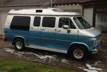 Chevy G20 van / My camper project. 5 litre tbi v8, M22 muncie