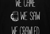 Bar Crawl T-Shirt Ideas / Bar Crawl T-shirt ideas and templates for you to personalize in our custom t-shirt design studio. We print and deliver within 10-days with free shipping in the U.S.