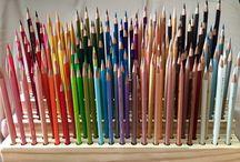 storage of pencils