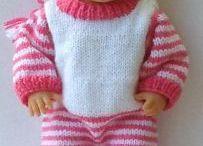 Šití a pletení na panenky