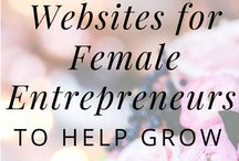 The Female Entrepreneurs Board / I know a lot of female entrepreneurs and they are just great. I constantly learn from them! Here I will collect my great pins regarding female entrepreneurs!
