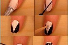 Nail art Tuto Habits