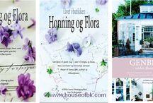 Honning & Flora / I mere end 15 år har Rikkes univers af gamle ting været brugt i mange sammenhænge i både artikler og bøger i Skandinavi-en og Europa. Det er også i Europa, at Rikke og hendes mor Birgitte med sjæl og slid finder de mange kuriositeter på bl.a. markeder i Frankrig, Belgien og Italien. Spændende ting, som på den måde finder vej til de mange danske hjem, som er faldet for stilen. Alt dette kan du se i billeder og læse om i bøgerne Honning & Flora. www.houseofbk.com