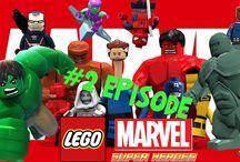 Lego Marvel 2- S.H.I.E.L.D Helicarrier Baxter Building - Times Square Of...