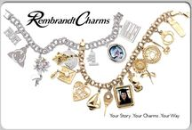REMBRANDT QUALITY CHARMS / Charms and charm bangles & bracelets from Rembrandt. / by C.D.Peacock