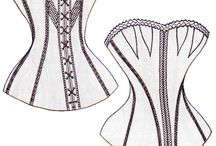Corsets / Visuals for corsetmaking
