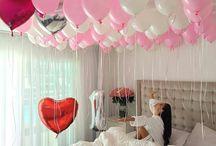 balloons........