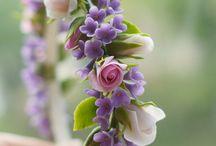 Gum paste flowers.