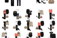 Guarda roupa em cápsulas / Vista-se com facilidade utilizando o conceito do guarda roupa em cápsulas ou capsule wardrobe.