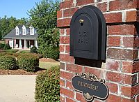 Brick Mailbox Replacement Doors / For existing or newly designed brick mailboxes, we offer Better Box Brick Mailbox Doors.