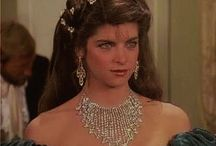 6) Young pretty actress Kirstie Alley / Kirstie Alley (born January 12, 1951), is an American actress.