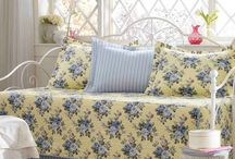 Nice daybeds and soft furnishings