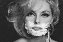 shaving girl
