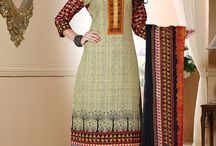 2215 Suhana Printed Polly Cotton Dress Material