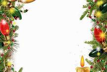 karácsonyi képkeret