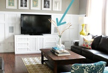 TV Wall / by Rechelle Blank
