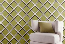 Clarke & Clarke Wallpaper / A great range of bold and delicate floral designs as well as some more contemporary styles.