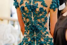 Dress' inspiration / The detail on a dress