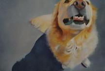 Taide koirat / Piirtäen ja maalaten