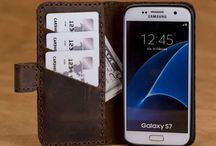 Leather Galaxy S7/S7 Edge Wallet Case