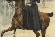 Horse - Всадницы / Дамы в дамском седле