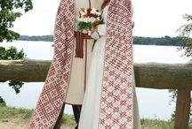 словянские платья