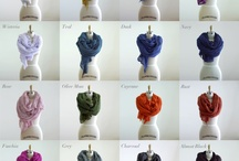Scarves - One of My Loves / by Bethany Mahnke