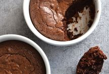 Fudge brownie pot.