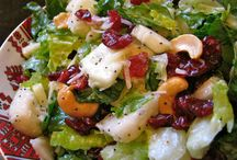 Salads / by Connie Olinger